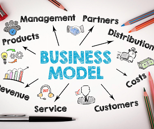Business model around an updated capablity driven strategy.