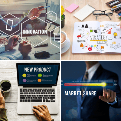 Innovation Strategy for Product Development and Market Share