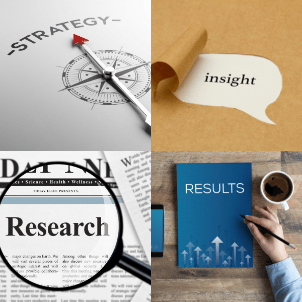 Strategic research insights results